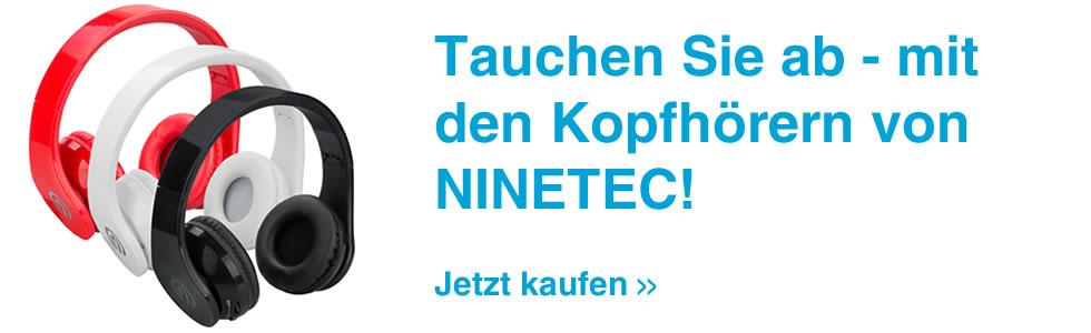 Preiswerte Kopfhörer und mehr NINETEC Produkte bei Tito-Express.