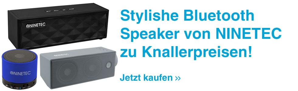 NINETEC Bluetooth Lautsprecher billig