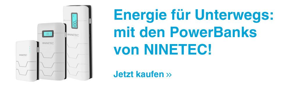 PowerBanks von NINETEC