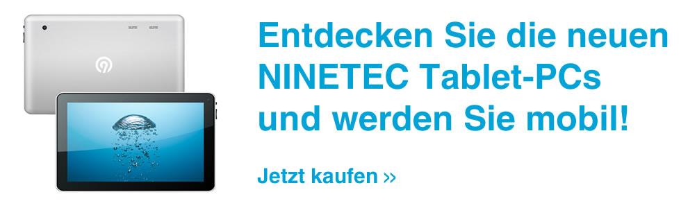 Tablet PC günstig von NINETEC